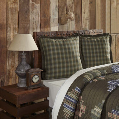 VHC Rustic & Lodge Bedding - Seneca Euro Sham