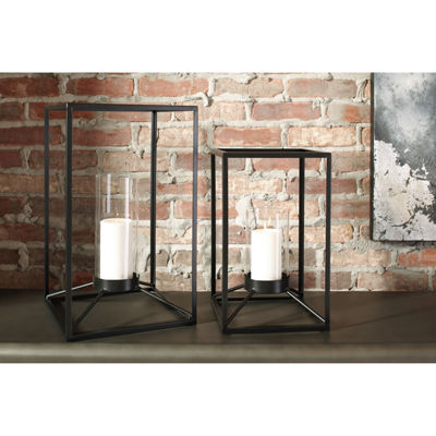 Signature Design By Ashley® Set of 2 Dimtrois Lanterns