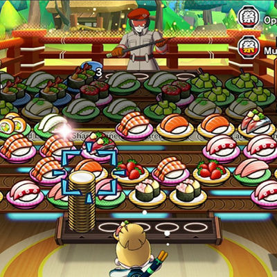 Nintendo Switch Sushi Striker: The Way Of Sushido Video Game