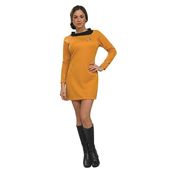 Star Trek Womens Deluxe Command Uniform Dress Up Costume
