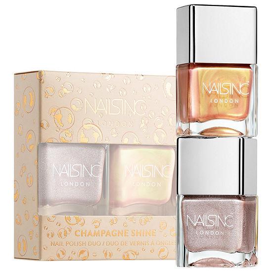 NAILS INC. Champagne Shine Nail Polish Duo