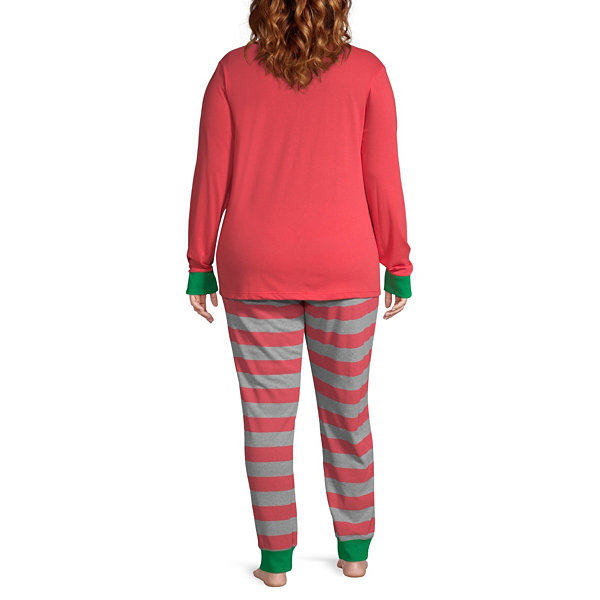 The Grinch 2 Piece Pajama Set -Women's Plus