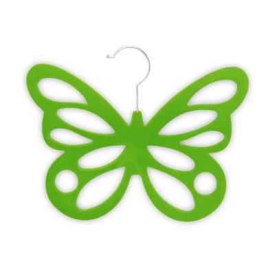 Home Basics Velvet Butterfly Scarf Hanger, Pack of 2
