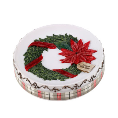Avanti Farmhouse Holiday Soap Dish