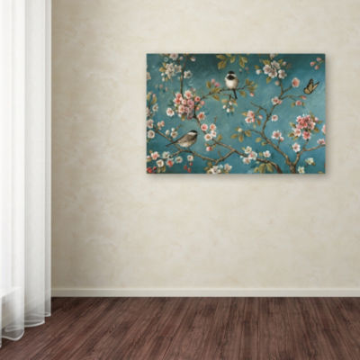 Trademark Fine Art Lisa Audit Blossom I Giclee Canvas Art