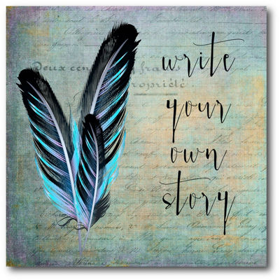 Write Your Own Story Canvas Art