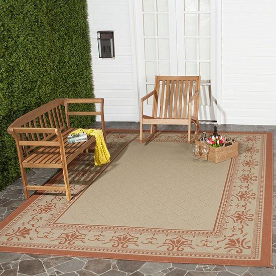 Safavieh Courtyard Collection Alden Oriental Indoor Outdoor Rug Collection