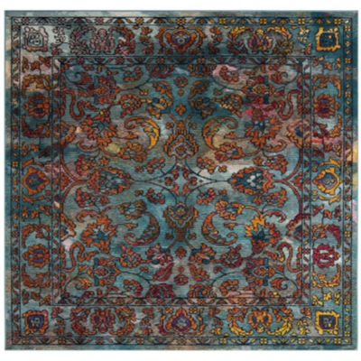 Safavieh Crystal Collection Shirley Oriental Square Area Rug