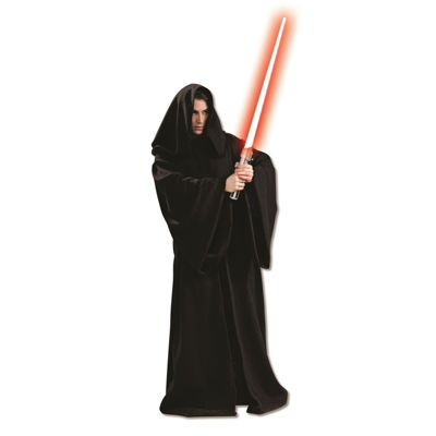 Star Wars Sith Robe with Hood Dress Up Costume (Saber sold separately)