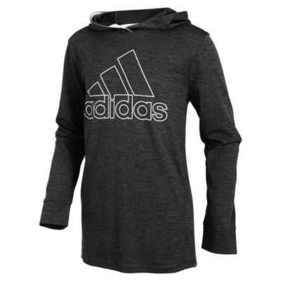 adidas Performance Hoodie-Big Kid Boys