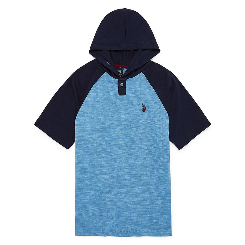 image of US Polo Assn. Short Sleeve Hooded Tee-ppr5007751301
