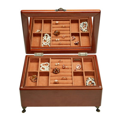 Mele & Co. Kinsley Wooden Jewelry Box