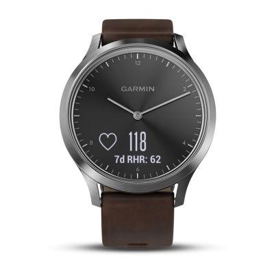 Garmin Vivomove Hr Unisex Brown Smart Watch-0100185014jcp