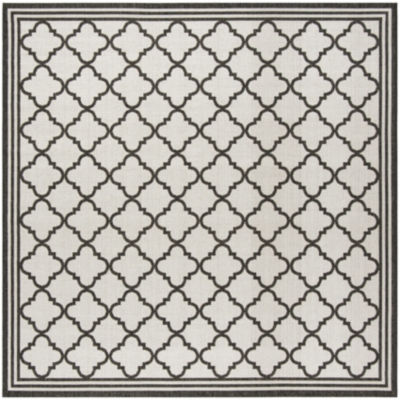 Safavieh Linden Collection Ellison Geometric Square Area Rug