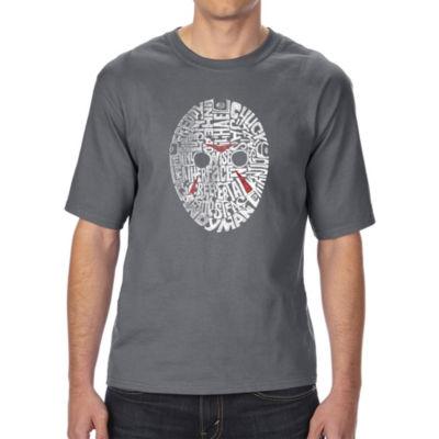 Los Angeles Pop Art Boy's Raglan Baseball Word Art T-shirt - LYRICS TO ANCHORS AWEIGH