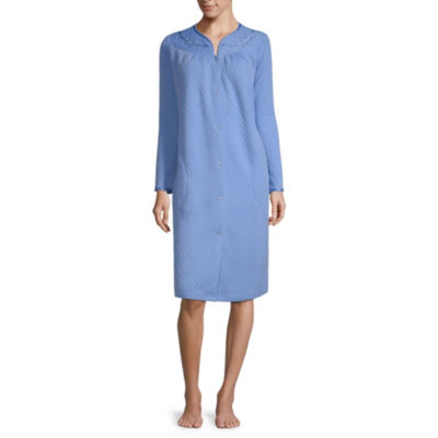 Adonna Quilted Long Sleeve Nightgown