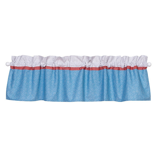 Trend Lab Superheros Rod-Pocket Valance
