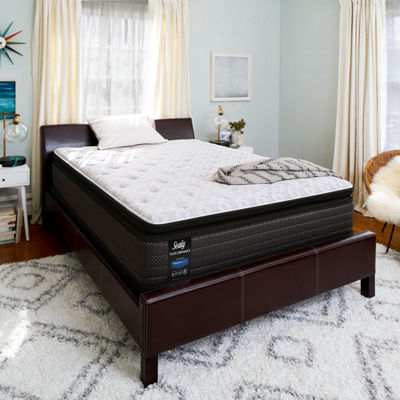 Sealy® West Plains LTD Plush Pillowtop - Mattress + Box Spring