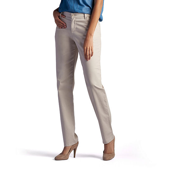 7ba5c221 Lee Plain Front All Day Pants JCPenney