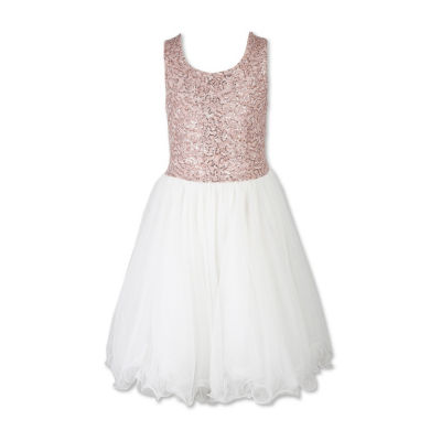 Speechless Short Sleeve Cap Sleeve Party Dress - Big Kid Girls