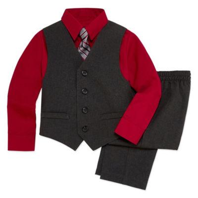 Van Heusen 4-pc. Suit Set Toddler Boys 2T-5T