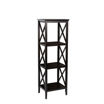 RiverRidge® X- Frame Bath Collection - 4-Shelf Storage Tower