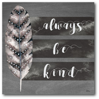 Always Be Kind Canvas Art
