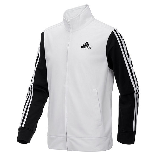 adidas Boys Track Jacket- Big Kid