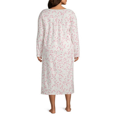 Adonna Flannel Nightgown-Plus