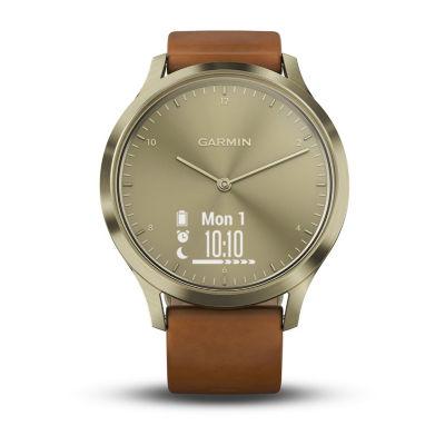 Garmin Vivomove Hr Unisex Brown Smart Watch-0100185015jcp