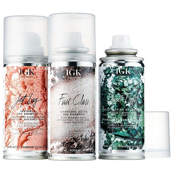 IGK Flight Club Dry Shampoo Travel Set