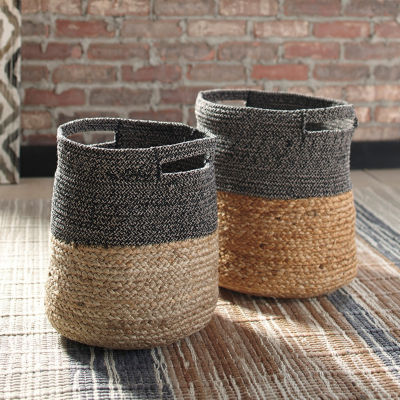 Signature Design By Ashley® Set of 2 Parrish Baskets