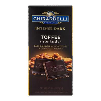 Ghirardelli Intense Dark Toffee Interlude - 3.5 oz- 12 Count