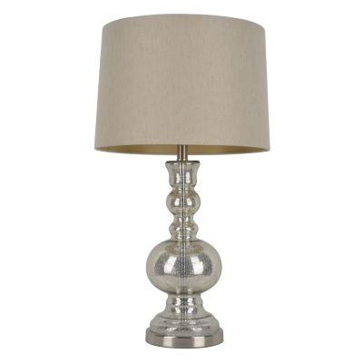"Decor Therapy 29.5"" Mercury Glass Table Lamp"