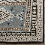 Safavieh Classic Vintage Collection Border Geometric Square Area Rug