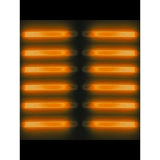 Lightstick With Lanyard- Orange Dress Up Accessory