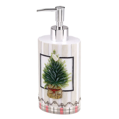 Avanti Farmhouse Holiday Soap Dispenser