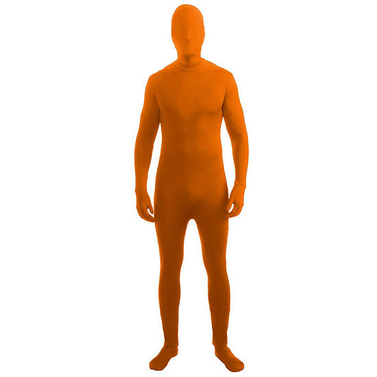 Orange Adult Skinsuit Dress Up Costume