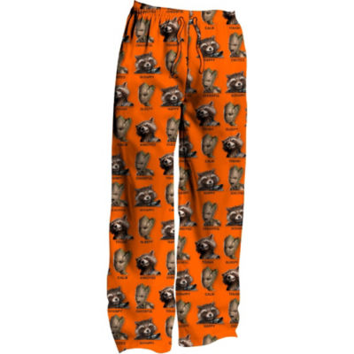 Guardians of the Galaxy Mens Microfleece Pajama Pants