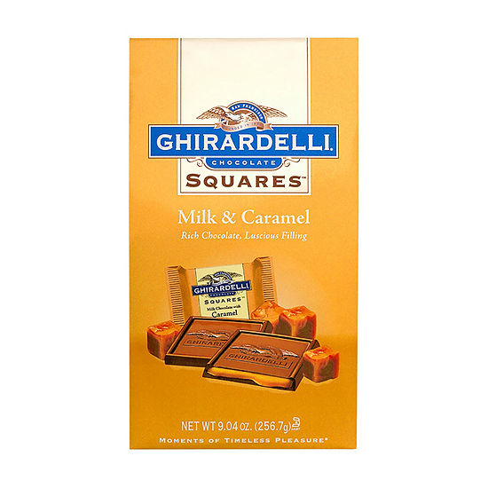 Ghirardelli Chocolate Squares Milk Caramel 904 Oz 2 Pack