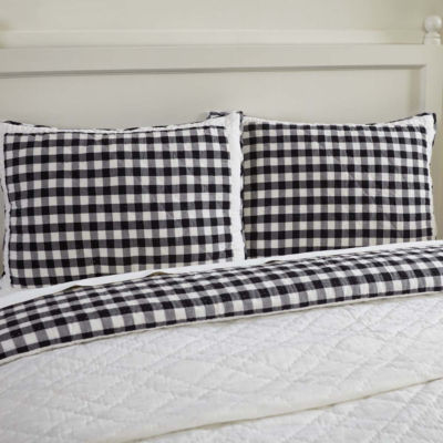VHC Classic Country Farmhouse Bedding - Annie Buffalo Check Sham