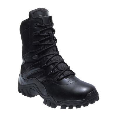 Bates Delta-8 Mens Side-Zip Slip-Resistant Work Boots