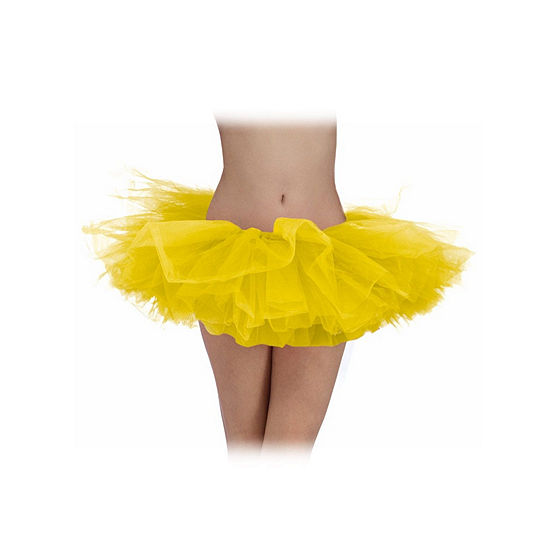 Womens Yellow Tutu Dress Up Accessory