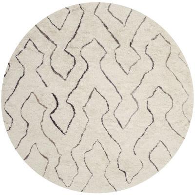 Safavieh Casablanca Collection Aydan Geometric Round Area Rug