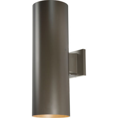 2-Light 18-Inch Antique Bronze Outdoor Wall Sconce