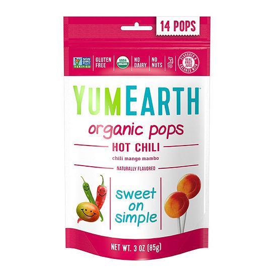 YumEarth Organic Hot Chili Lollipops - 3 oz - 6 Pack