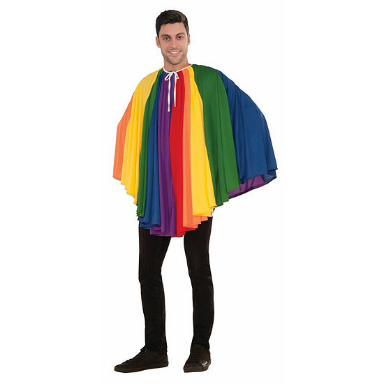 Rainbow Adult Cape Dress Up Accessory