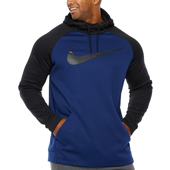 Nike-Big and Tall Mens Long Sleeve Moisture Wicking Hoodie