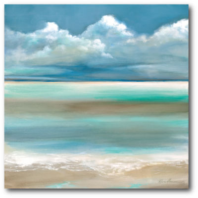 Coastal Horizon I Canvas Wall Art Canvas Art