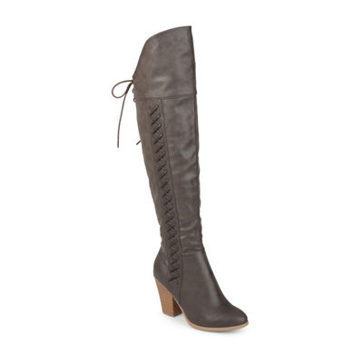 Journee Collection Spritz Womens Dress Boots